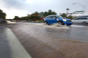 Las Vegas Valley Drenched by Storm