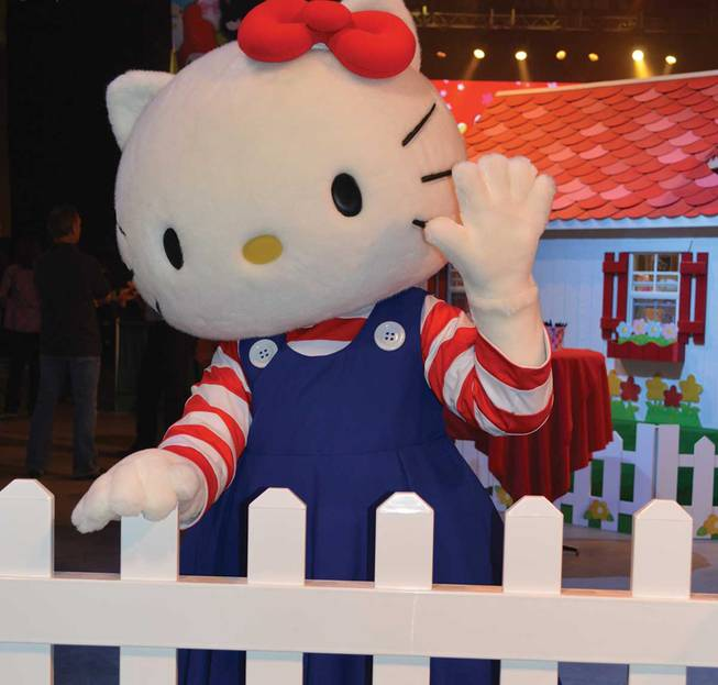 Hello Kitty's Supercute Friendship Festival.