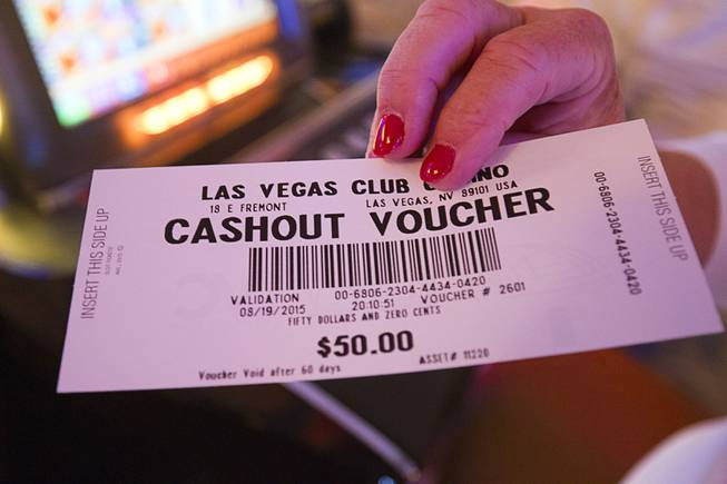 Dont Gamble On Vouchers >> Forget A Casino Ticket Here S What Happens To The Money Las Vegas