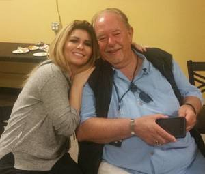 Robin Leach at Shania Twain in San Diego