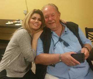 Robin Leach attends the concert tour stop of Shania Twain on Saturday, Aug. 22, 2015, in San Diego.