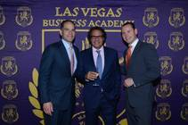 Guest columnist Max Tappeiner, right, is the president of the Las Vegas Business Academy.