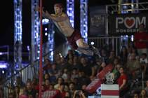 "Kevin Klein competes in the Season 7 finals of ""American Ninja Warrior"" in Las Vegas and airing on NBC."