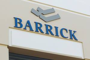 Barrick Gold Ribbon Cutting