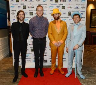 "The Tyler Robinson Foundation benefit gala ""Imagine a World Without Cancer"" headlined by Imagine Dragons on Thursday, Sept. 24, 2015, at the Four Seasons."