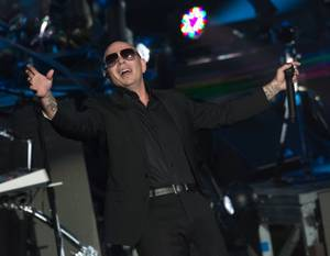 Pitbull at Axis at Planet Hollywood