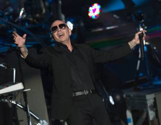 Pitbull kicks off his seven-show