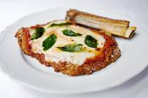 Veal parm at Carbone at Aria.