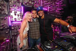 Rick Fox Hosts, DJs at Hyde Bellagio