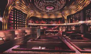 A rendering of Hakkasan Group's nightclub Jewel, which is going in the former space of Haze at Aria in the spring of 2016.