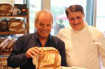 Wolfgang Puck and Eric Klein on Saturday, Oct. 17, 2015, in Downtown Summerlin.
