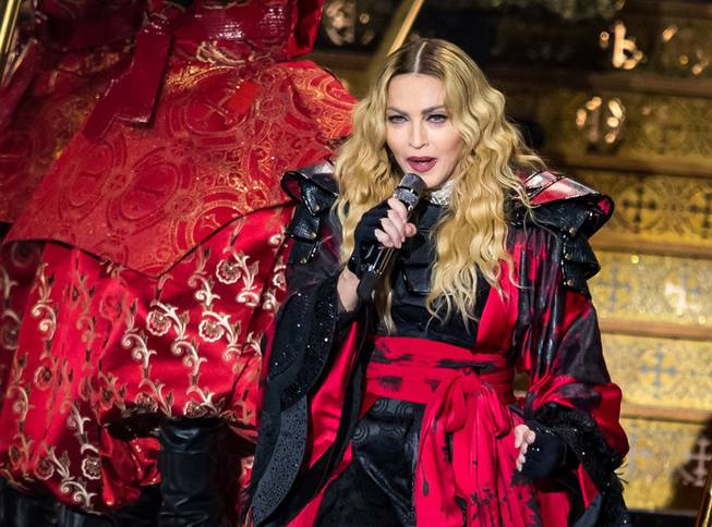 Madonna's 'Rebel Heart Tour' at MGM Grand