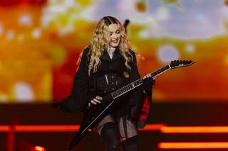 "Madonna's ""Rebel Heart Tour"" concert Saturday, Oct. 24, 2015, at MGM Grand Garden Arena."