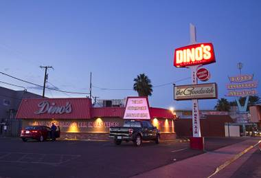 Dino's on Las Vegas Boulevard South in Las Vegas Tuesday, Nov. 3, 2015.