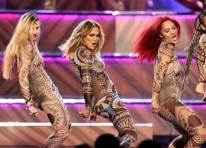 J.Lo Hosts American Music Awards