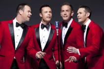 The Venetian headliners Human Nature — Phil Burton, Michael Tierney, Toby Allen and Andrew Tierney —are ready for the holidays.
