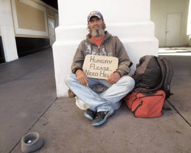 Portraits of homelessness in Las Vegas: Eight people share