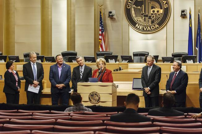 City of Las Vegas & NV Energy Press Conference