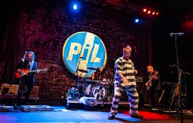 Public Image Ltd, with frontman John Lydon, headlines Brooklyn Bowl on Wednesday, Nov. 25, 2015, in the Linq Promenade.