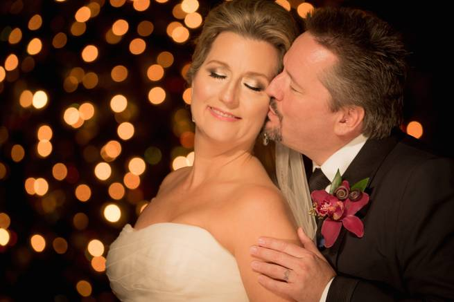 The wedding of Angie Fiore and Terry Fator on Saturday, Nov. 28, 2015, at Lake Las Vegas Hilton.