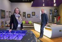 Moving to Las Vegas from France presented Sylvie and Pascal Becourt with several challenges, among them finding home furnishings to suit their tastes and learning how to conduct business with Americans.