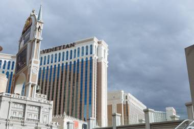 The Venetian on Wednesday, Sept. 30, 2015, on the Las Vegas Strip.