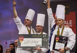The Bocuse D'Or Finale from Jan. 27-28, 2015, in Lyon, France.