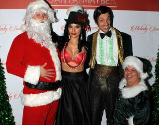 Melody Sweets hosts her holiday party at Fizz on Saturday, Dec. 19, 2015, in Caesars Palace.