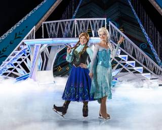 Anna and Elsa in