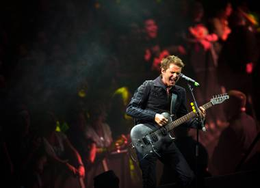 If a Muse concert were a celebrity, it would be Gwyneth Paltrow—which is to say it can sound utterly ridiculous and be laughably pretentious, but hey, it sure as hell looks good.