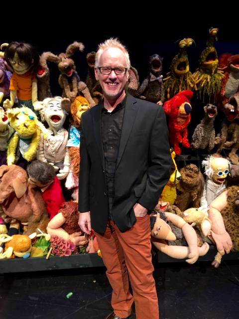 "Jim Henson's ""Puppet Up! Uncensored"" at Jim Henson Co. headquarters Thursday, Jan. 7, 2016, in Los Angeles. Patrick Bristow is pictured here."