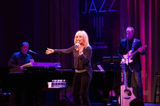 Susan Anton performs at Cabaret Jazz on Saturday, Jan. 9, 2016, in the Smith Center.