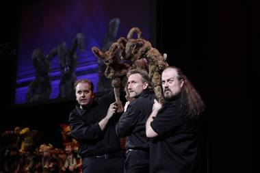 "The starting date for ""Puppet Up! Uncensored"" has become a little, um, fuzzy. The show was targeted for a spring opening at Sands Showroom at the Venetian but has been moved back to June as ..."