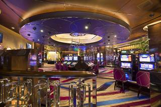 A view of the new high limit slot area at the Cosmopolitan Wednesday, Jan 13, 2016.