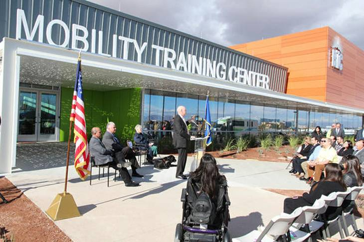 The Regional Transportation Commission of Southern Nevada held the grand opening of its Mobility Training Center Jan. 7.