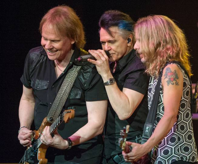 Styx headlines Pearl at the Palms on Saturday, Jan. 16, ...