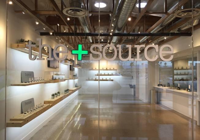 Popular Las Vegas marijuana dispensary The+Source part of