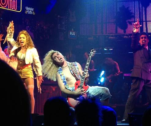 Paul Johnson nails it down as the new Drew in 'Rock of Ages'