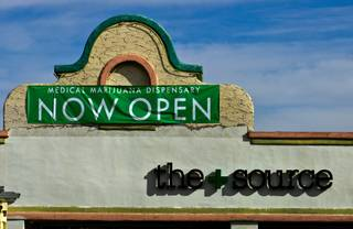 The Grand Opening Celebration and Open House for The+Source marijuana dispensary on Saturday, January 30, 2016.
