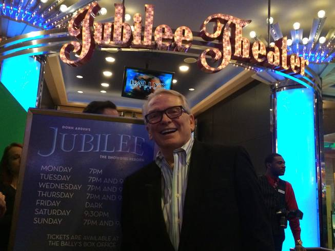 "Designer Bob Mackie attends the final performance of ""Jubilee"" on ..."