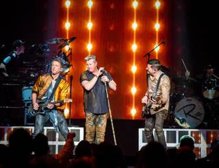 "Opening night of Rascal Flatts' ""Rhythm & Roots"" mini-residency at the Joint on Wednesday, Feb. 17, 2016, at the Hard Rock Hotel Las Vegas."