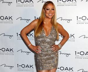 Mariah Carey Celebrates at 1 OAK