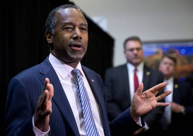 Ben Carson: 'Poverty Is a State of Mind'