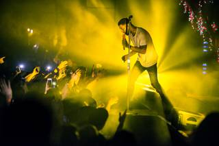 Kid Cudi performs a sold-out show at the Foundry on Sunday, March 13, 2016, at SLS Las Vegas.