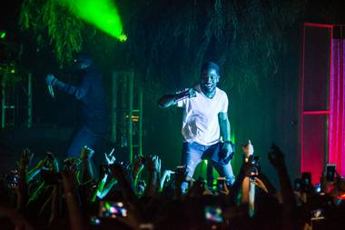 The Kats Report Bureau at this writing is in recovery mode, having wound around the scene at Pitbull's show Saturday night at Axis at Planet Hollywood and Kid Cudi at the Foundry in SLS Las Vegas on Sunday. ...