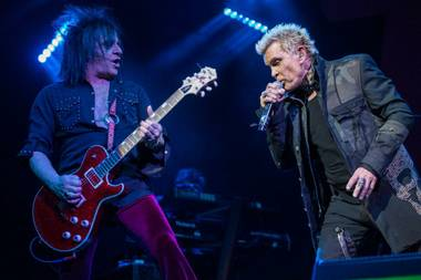 "Billy Idol playing Las Vegas was destiny. Take it from the man himself, as he stated lyrically many years ago: ""When you hear the music, you make a dip into someone else's pocket, then make a slip. Steal a car and go to Las Vegas, ... """
