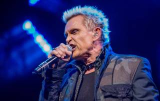 Billy Idol headlines at House of Blues on Wednesday, March 16, 2016, in Mandalay Bay.