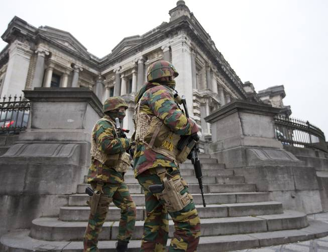 Brussels police raid ends with arrest
