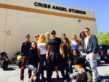 "The magic in Criss Angel's new show on the Strip is to arrive from two performers: Angel himself and Chloe Crawford. This is the overarching message from the casting of Angel's ""Mindfreak Live!"" at Luxor ..."