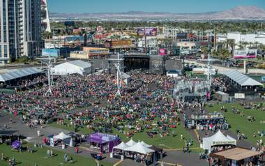 Day 2 of 2016 ACM Party for a Cause with Frankie Ballard, Dustin Lynch, Chris Young, Lee Brice and Dierks Bentley on Saturday, April 2, 2016, at Las Vegas Festival Grounds.